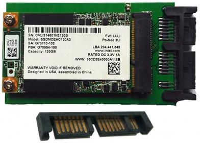 "Хард диск за лаптоп SSD 240GB 1.8"" Micro SATA SSD Intel"