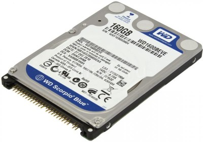 "Хард диск за лаптоп IDE 160GB 5400rpm 2.5"" WD Blue WD1600BEVE"