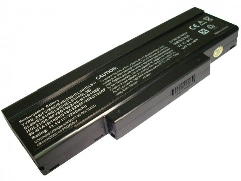 Батерия за Gigabyte W451U W551N W566U MSI M655 M660 M675 VR600 VR600 GT620 CR400 PR600 Benq R55 SQU-528 BTY-M66 9кл