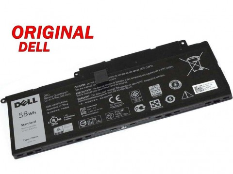 Батерия ОРИГИНАЛНА DELL Inspiron 14 (7000) 15 (7000) 17 (7000) F7HVR ремаркетирана