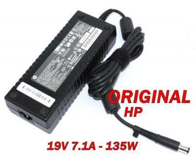 Адаптер за лаптоп ОРИГИНАЛЕН (Зарядно за лаптоп) HP 19V 7.1A 135W Smart ED519AA ремаркетиран