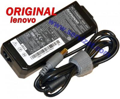 Адаптер за лаптоп ОРИГИНАЛЕН (Зарядно за лаптоп) Lenovo 20V 4.5A 90W ремаркетиран