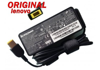 Адаптер за лаптоп ОРИГИНАЛЕН (Зарядно за лаптоп) Lenovo 20V 4.5A 90W (slim tip) правоъгълна букса ремаркетиран