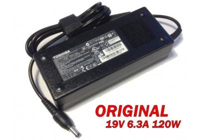 Адаптер за лаптоп ОРИГИНАЛЕН (Зарядно за лаптоп) Toshiba 19V 6.3A 120W (съвместим с ASUS)
