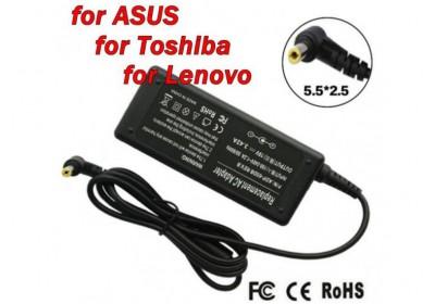 Адаптер за лаптоп (Зарядно за лаптоп) 19V 3.42A 65W букса 5.5mm x 2.5mm