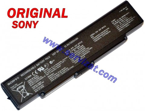 Батерия ОРИГИНАЛНА SONY Vaio VGN-AR VGN-CR VGN-NR VGN-SZ VGP-BPS9 VGP-BPL9 9кл