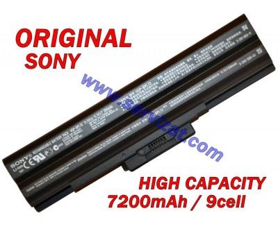 Батерия ОРИГИНАЛНА SONY Vaio VGN-CS VGN-AW VGN-FW VGN-NS VGN-SR VGP-BPS13 VGP-BPL13 9кл
