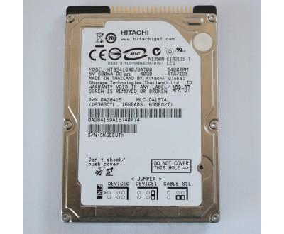 """Хард диск за лаптоп IDE 40GB 5400rpm 2.5"""" Hitachi HTS421240H9AT00 ремаркетиран"""
