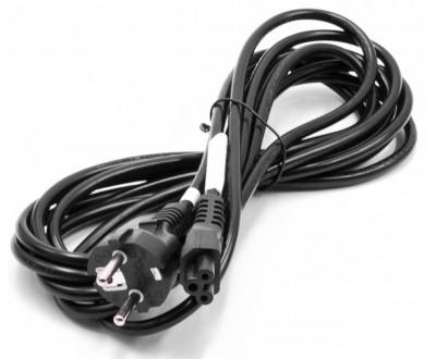 Захранващ кабел за адаптер за лаптоп 3 пина (тройка) 3m